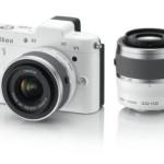 ニコンのミラーレス一眼Nikon 1 V1のダブルズームキットが大幅値下げ!送料無料!