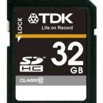 デジタル一眼ユーザーさんやビデオ撮影ユーザーにぜひ!TDK SDHCカード 32GB Class10が値下げ!送料無料!