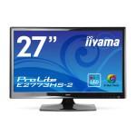 27インチフルHDの液晶モニタ! iiyama WLED ProLite E2773HS-GB2が激安超特価!送料無料!