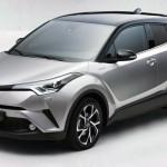 ジュネーブショーで発表される予定だったトヨタC-HRの市販モデル写真が流出?