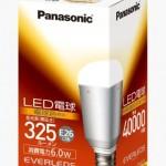 玄関やトイレの電球交換にどうぞ!パナソニックEVERLEDS LED電球 光束325ルーメン・電球30形相当のLDA6LHが激安特価!送料無料!